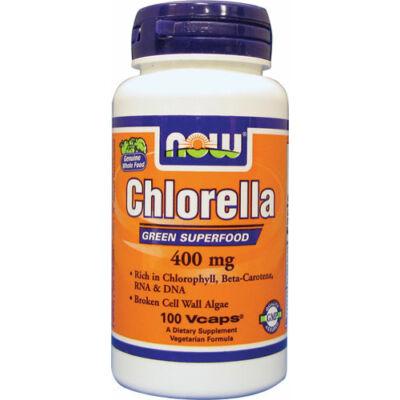 NOW Chlorella 400mg caps