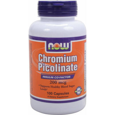 NOW Chromium Picolinate 200mcg