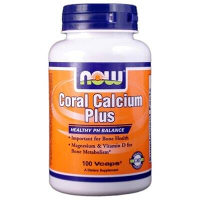 NOW Coral Calcium Plus (100 db kapszula)