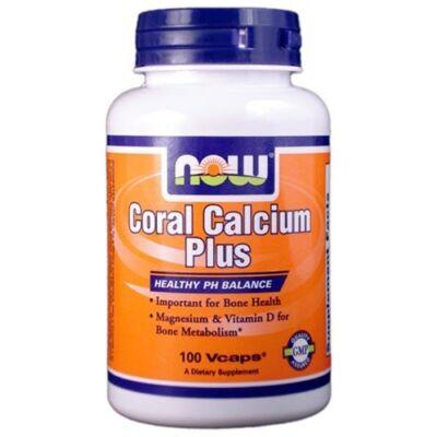 NOW Coral Calcium Plus (100 db kapszula)