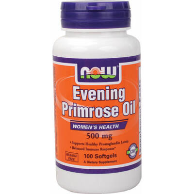 NOW Evening Primrose 500mg