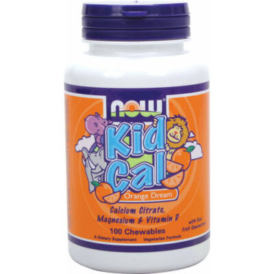 NOW Kid-Cal Chewable