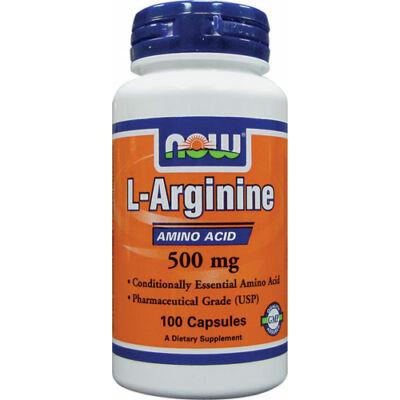 NOW L-Arginine  500mg caps