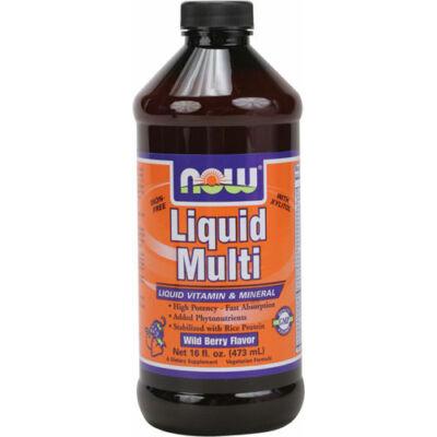 NOW Liquid Multi Berry