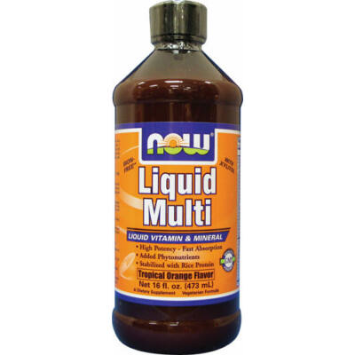 NOW Liquid Multi Orange