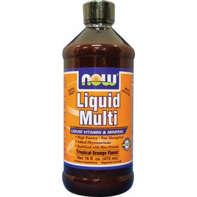 NOW Liquid Multi Orange