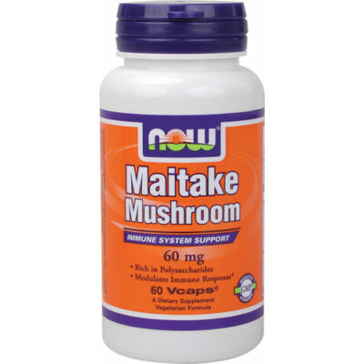 NOW Maitake Mushroom   60mg caps
