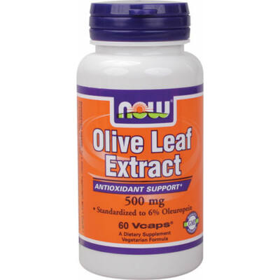NOW Olive Leaf 500mg    60  vcaps
