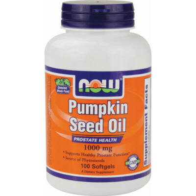 NOW Pumpkin Oil 1000mg