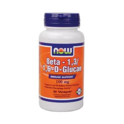 NOW Beta-1,3/1,6 D Glucan 100 mg (90db)