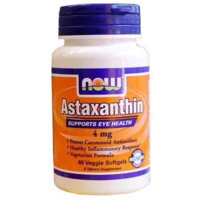 NOW Astaxanthin 4mg (60 db)