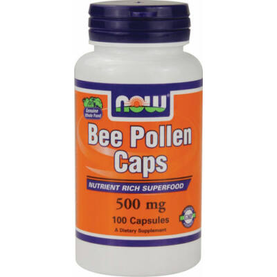 NOW Bee Pollen  500mg caps