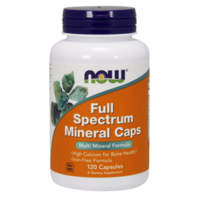 NOW Full Spectrum Minerals (120 db kapszula)