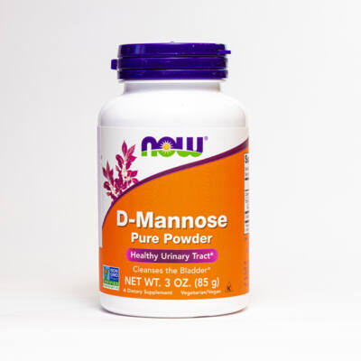 NOW D-mannose por (85g)