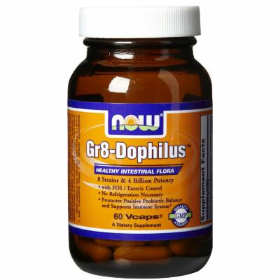 NOW Gr8-Dophilus (60 db)