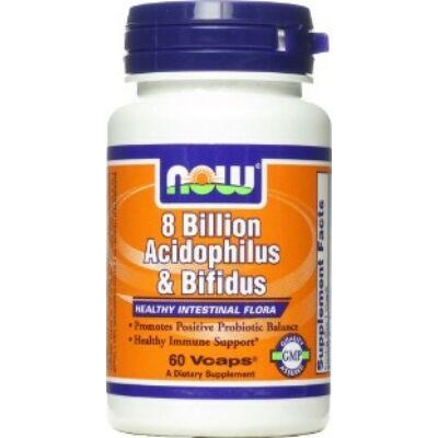NOW Acidophilus Bifidus 8 Billion (60db)