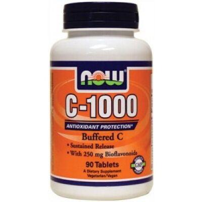 NOW C-1000 Complex 250mg bioflavonoiddal (90 tabletta)