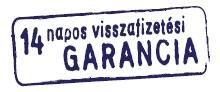 8 nap pénzvisszafizetési garancia
