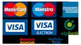 OTP bankkártyás fizetés - kártyalogók